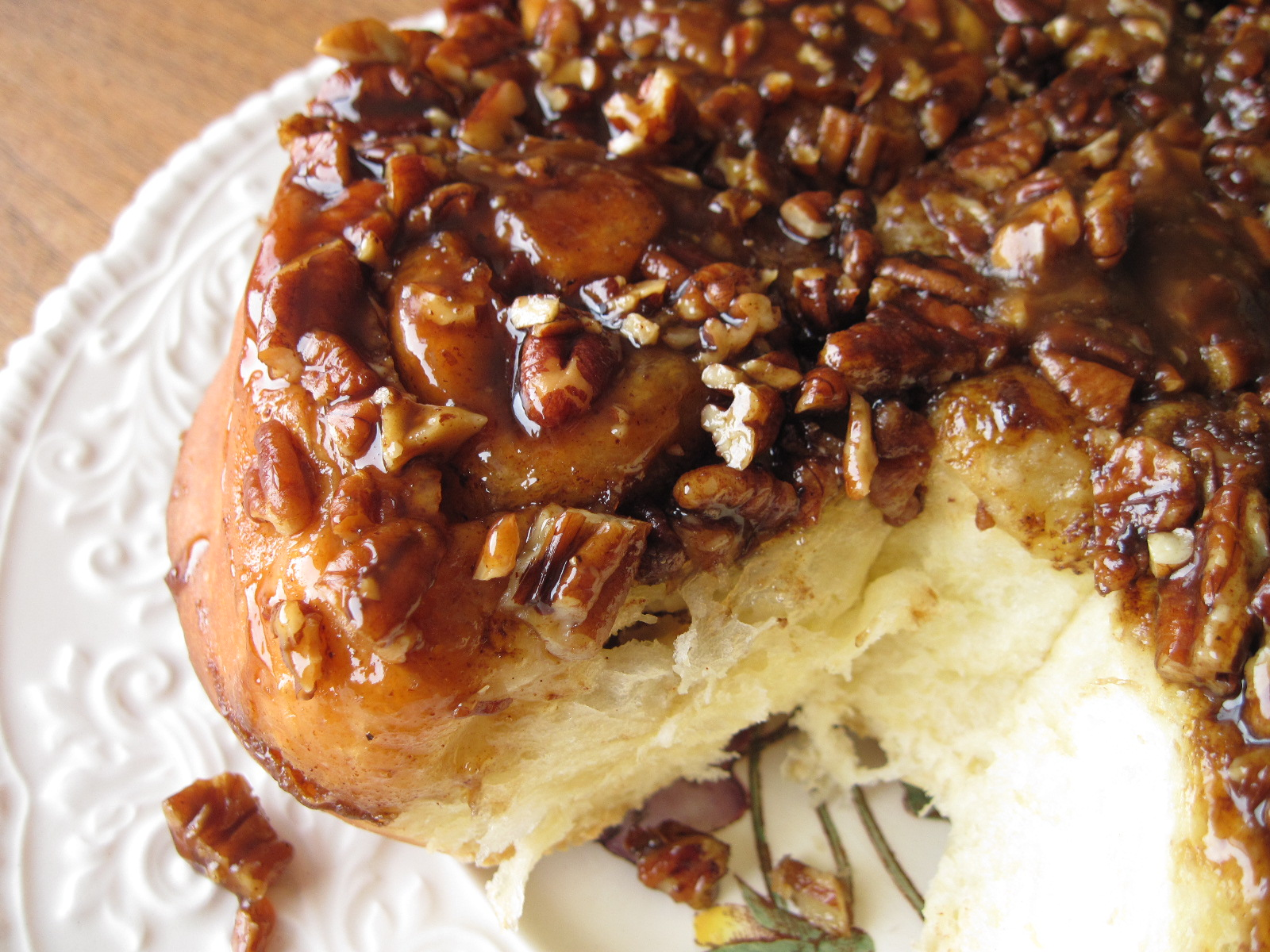 Here they are… the caramel pecan sticky buns that started my ...