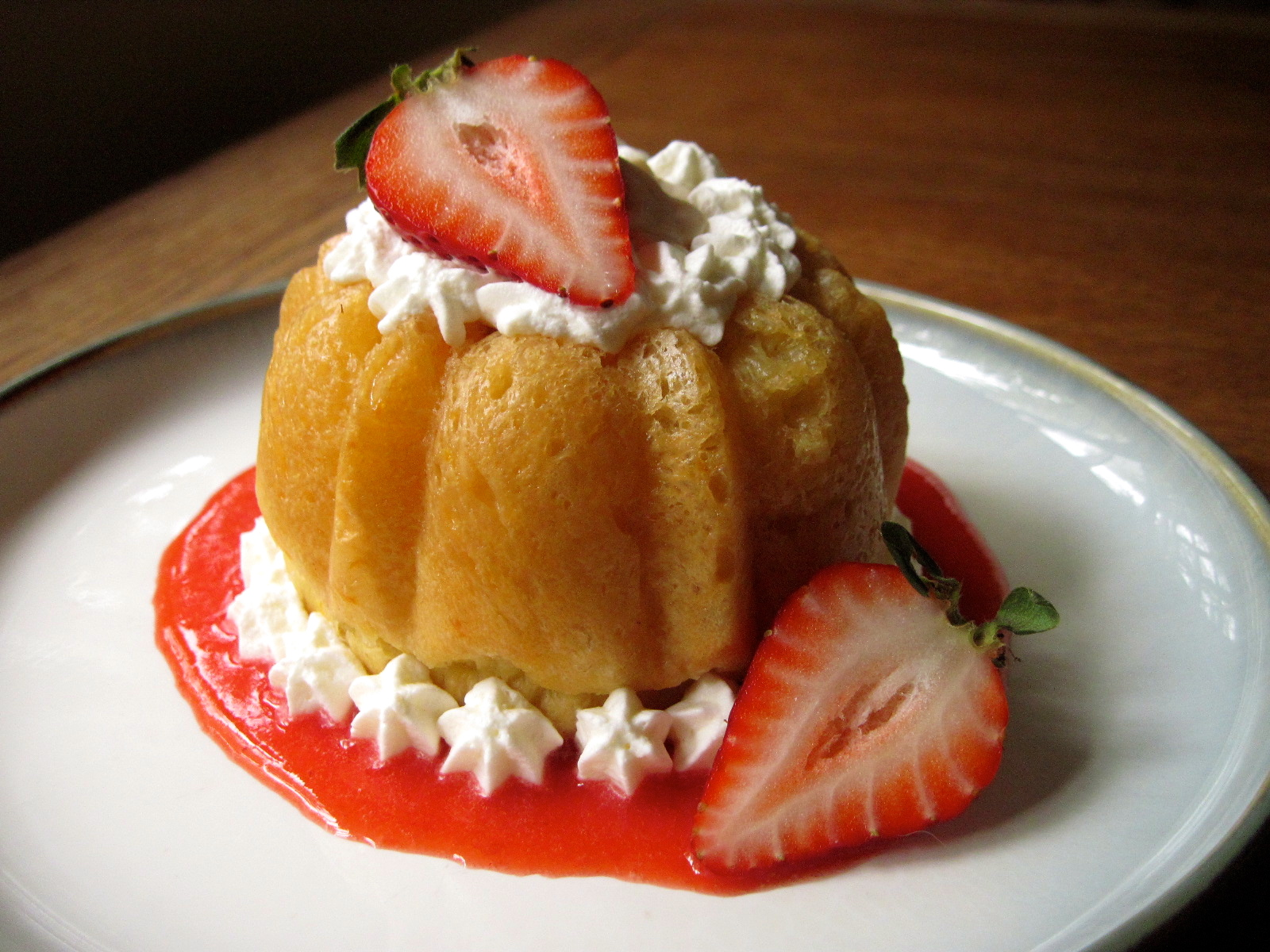 Strawberry Savarin | Korena in the Kitchen
