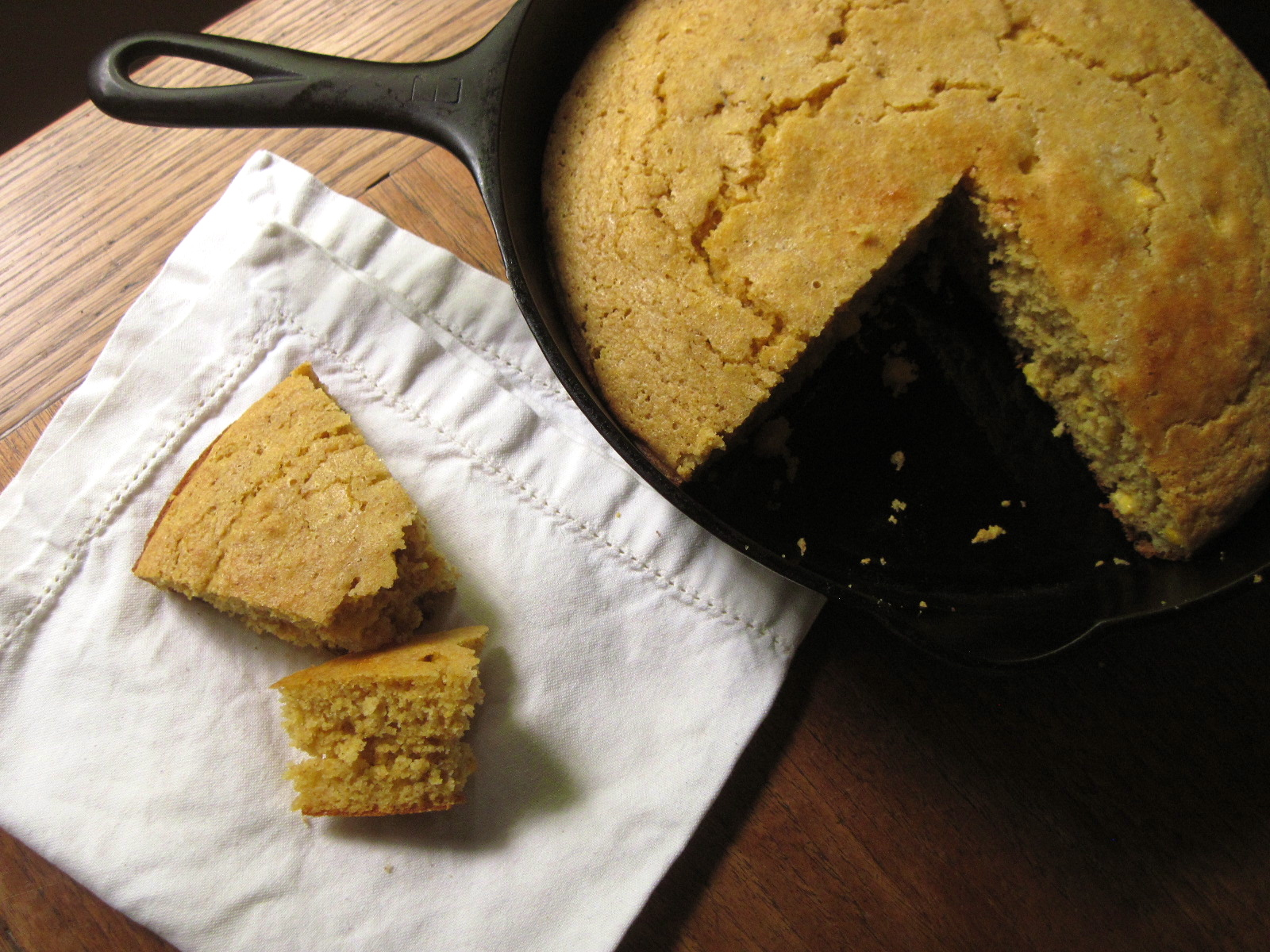 Skillet Cornbread | Korena in the Kitchen