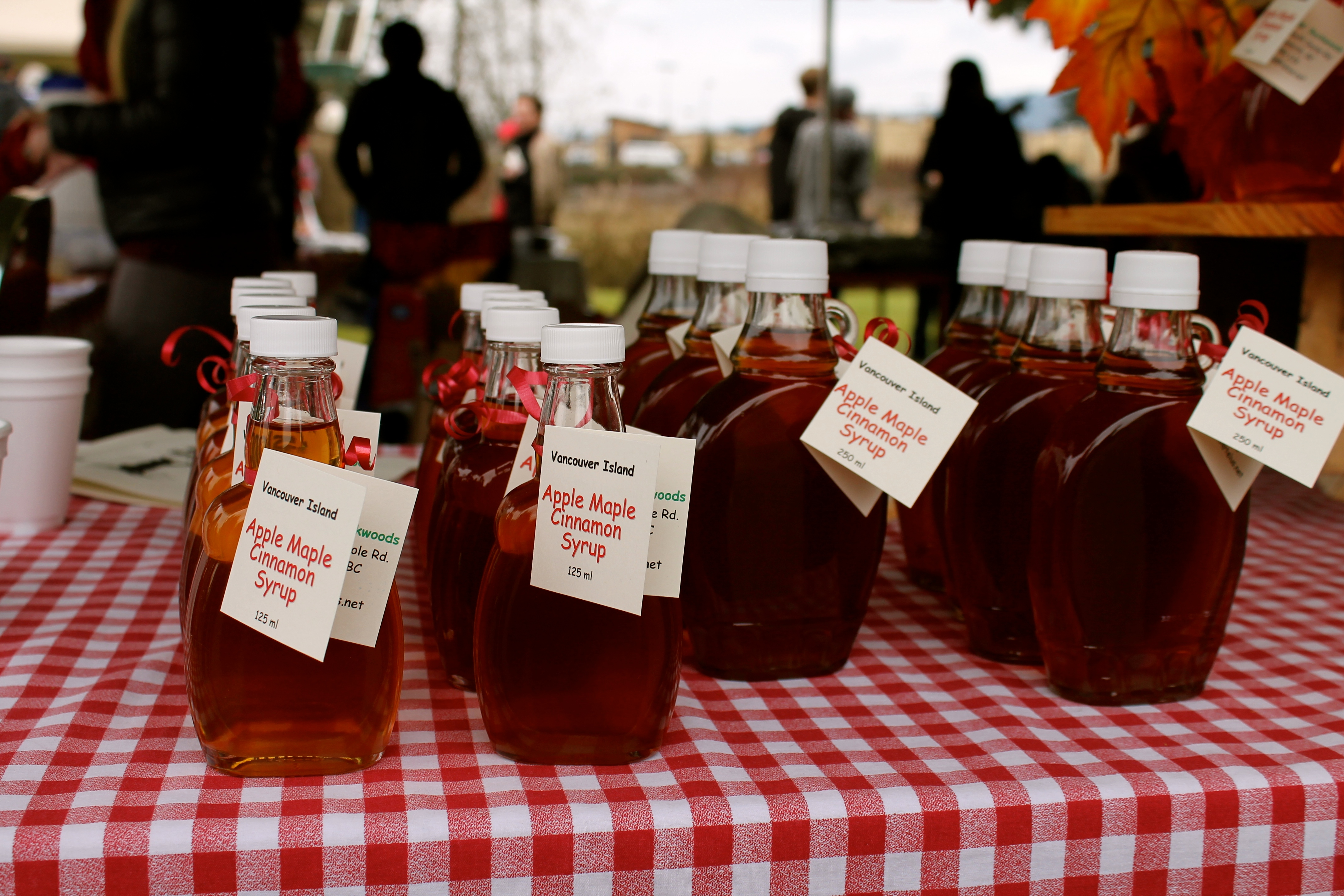 bigleaf maple syrup festival at the bc forest discovery centre