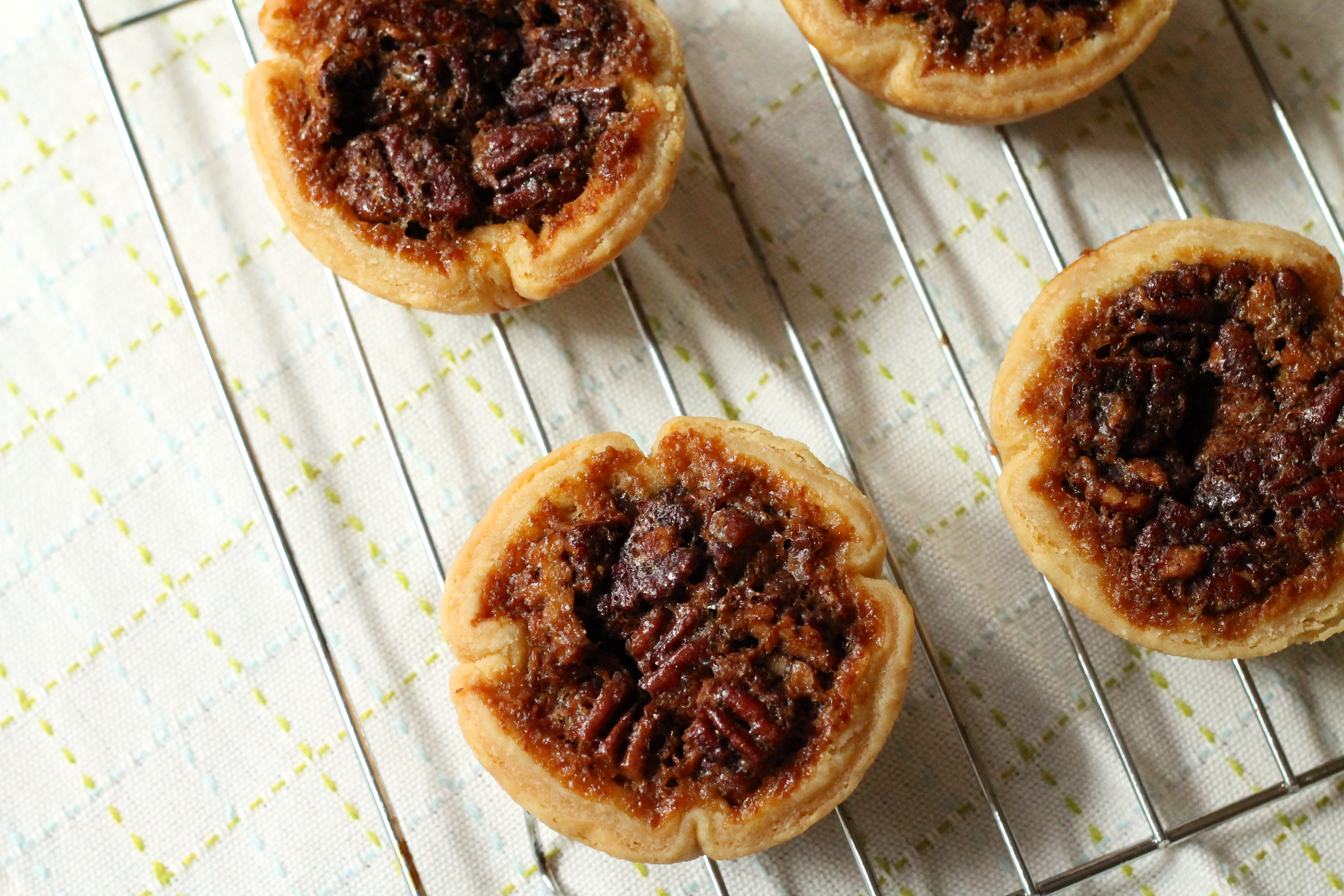 maple pecan butter tarts