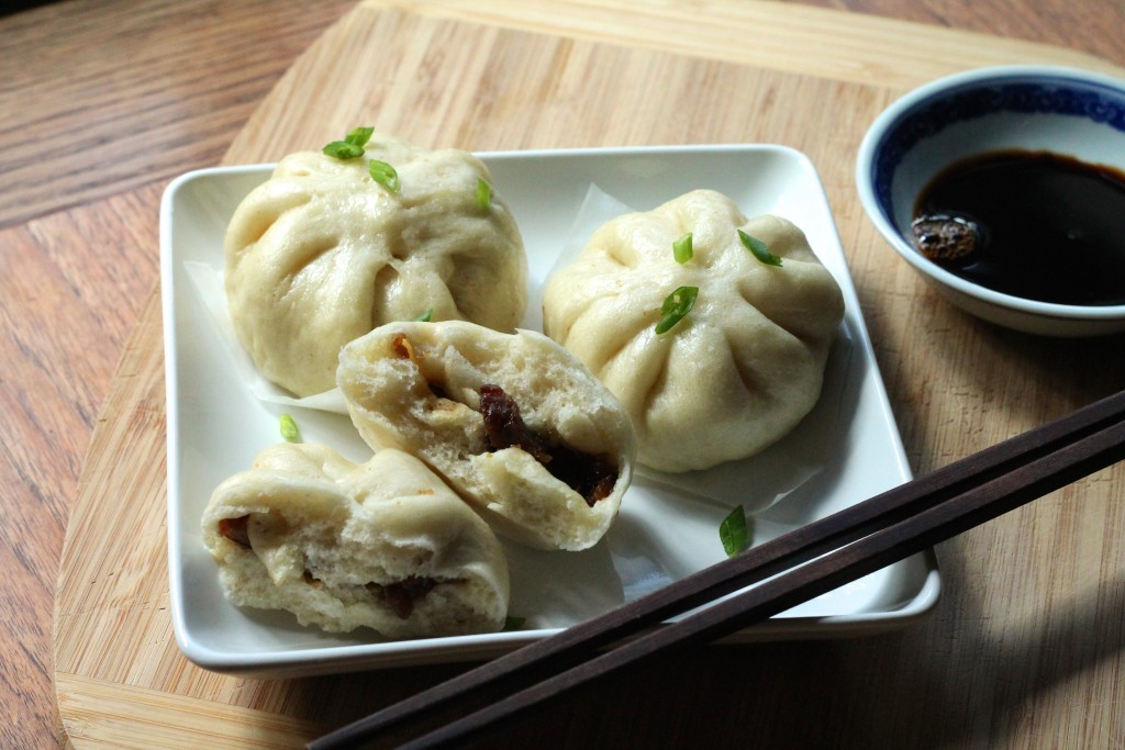 Chinese BBQ Pork Sourdough Steamed Buns | Korena in the Kitchen