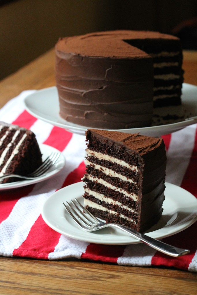 Melissa Clark's Devil's Food Cake with Black Pepper Buttercream | Korena in the Kitchen