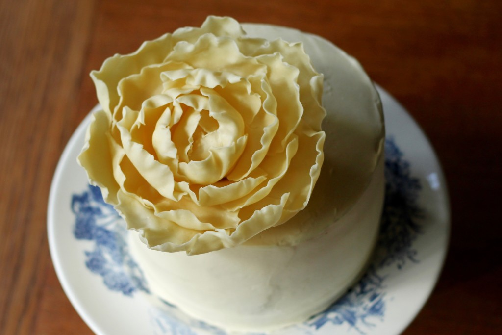 White Chocolate Peony | Korena in the Kitchen