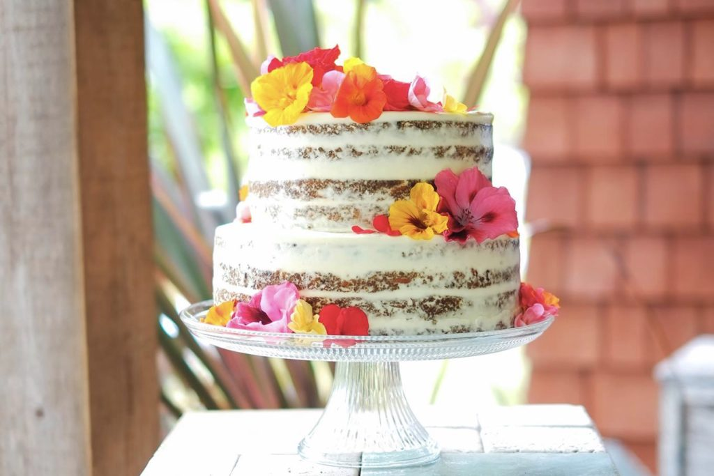 Naked Carrot Wedding Cake | Korena in the Kitchen