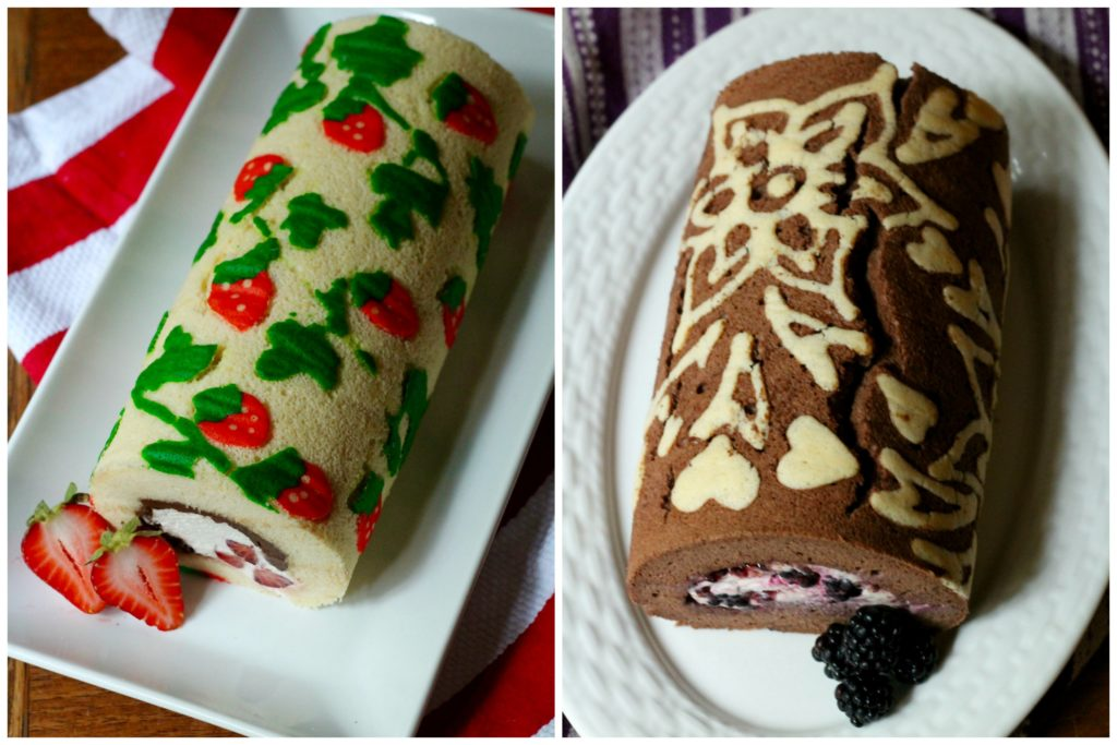 Decorated Swiss Rolls | Korena in the Kitchen