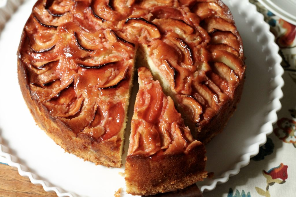 German Apple-Quince-Almond Cake | Korena in the Kitchen