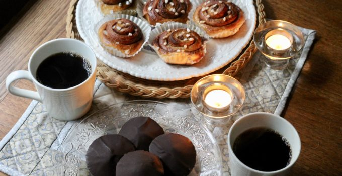 Swedish Kanelbullar and Chokladbiskvier