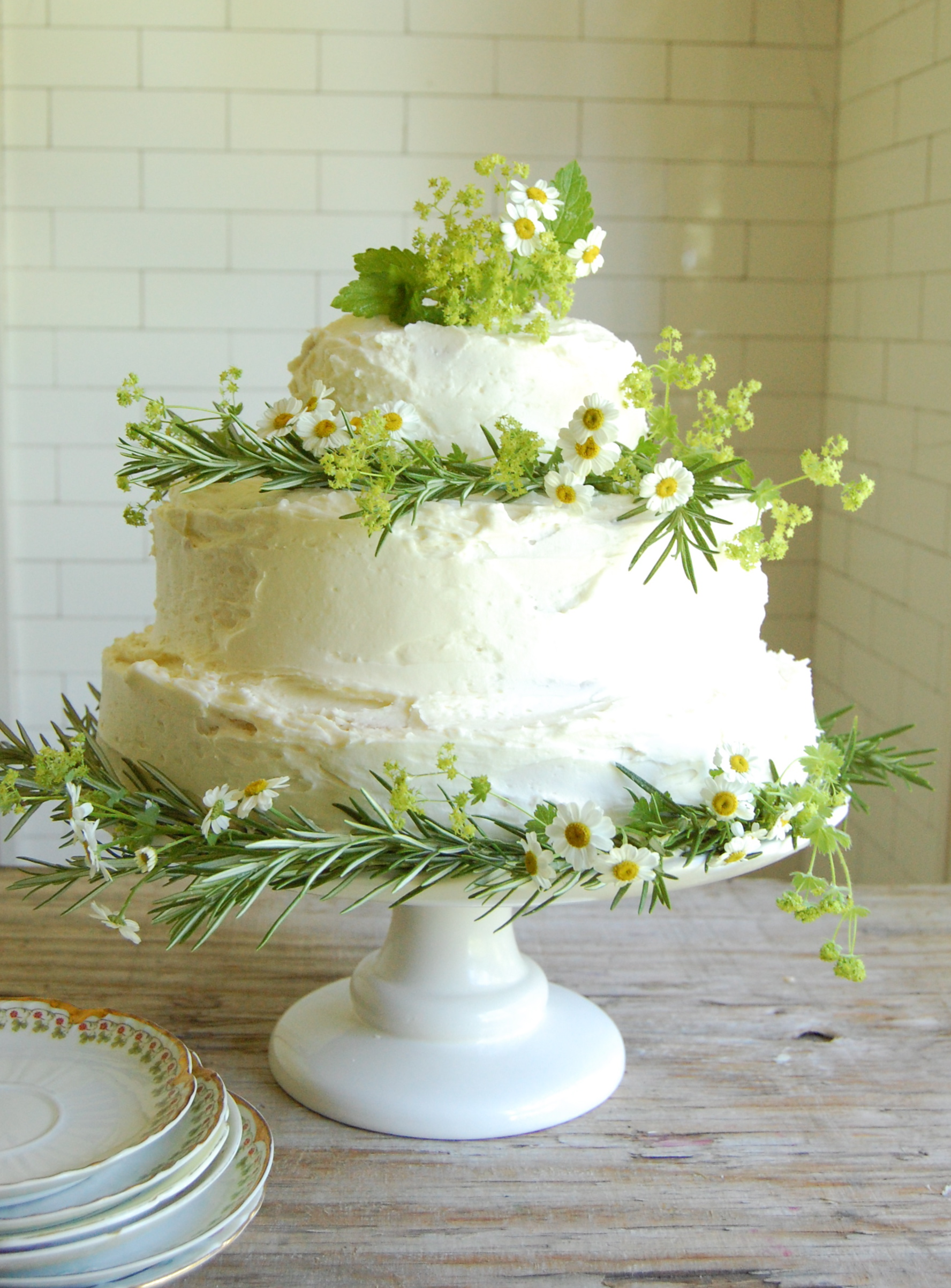 Rustic Wedding Cake June