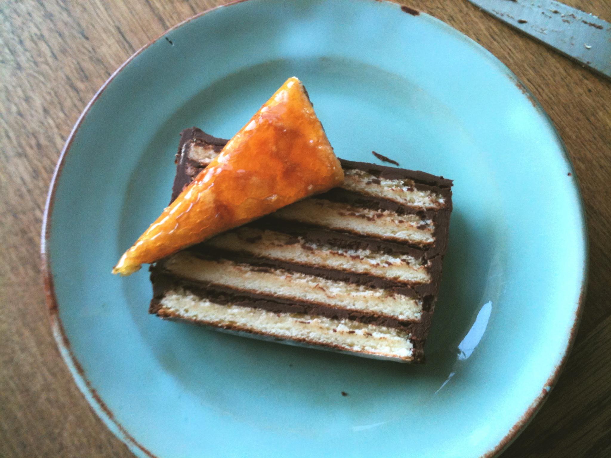 Dobos Torte Birthday Cake