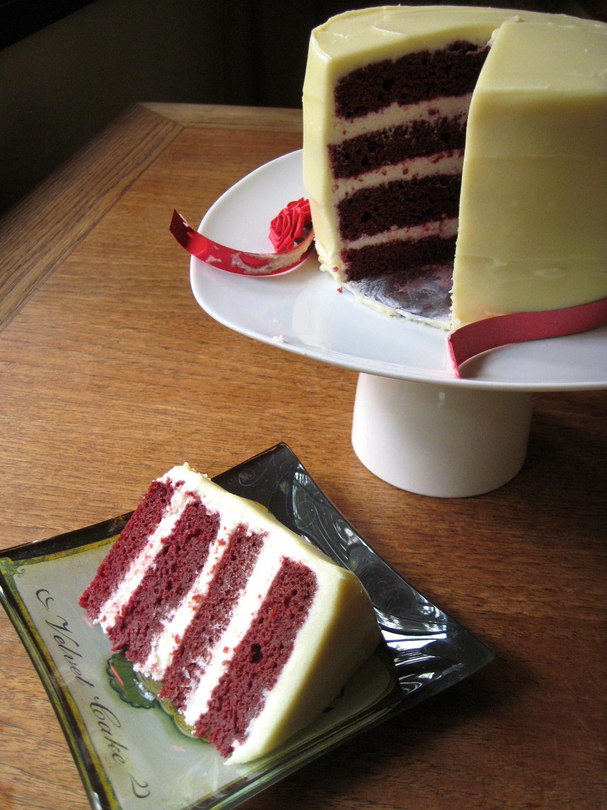 Daring Bakers Beet Red Velvet Cake